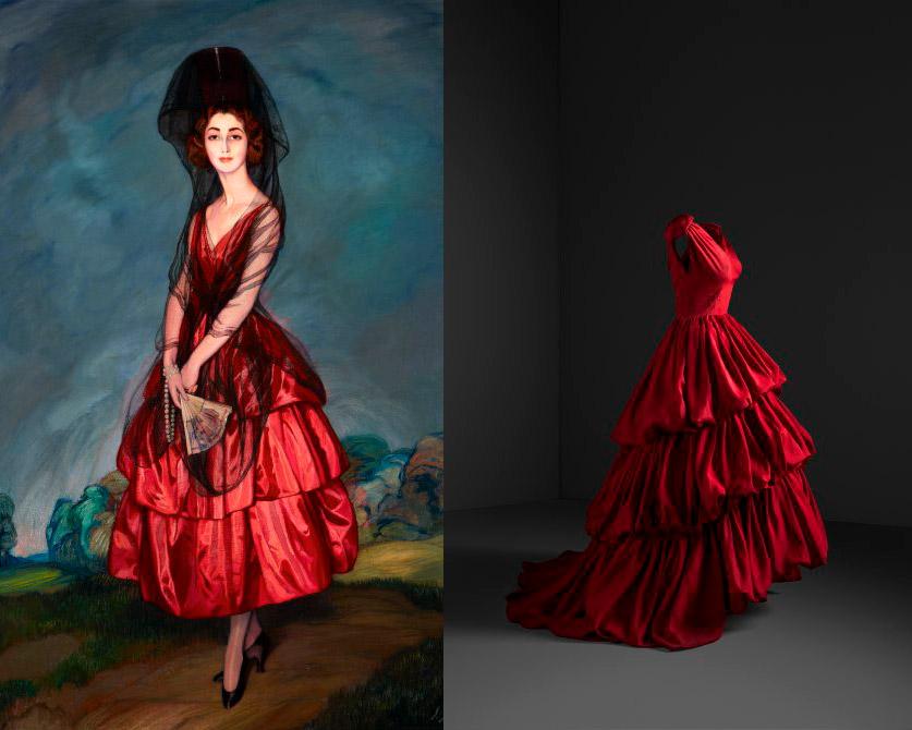 Balenciaga: La influencia de la pintura española en el diseño de moda