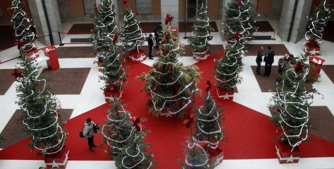 Bosque de los deseos Madrid Navidad 2019