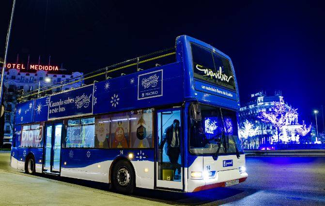 Naviluz, el bus de Navidad